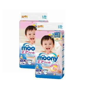 Combo 2 Tã Dán Moony L54