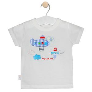 Áo Tay Ngắn Hello Baby In Hình Ngẫu Nhiên Màu Trắng Size 1 (al0009)
