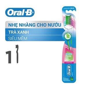 Bàn Chải Đánh Răng Oral-B Tinh Chất Trà Xanh
