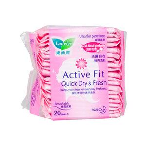 Băng Vệ Sinh Laurier Hàng Ngày Hương Hoa Active fit (20 miếng)