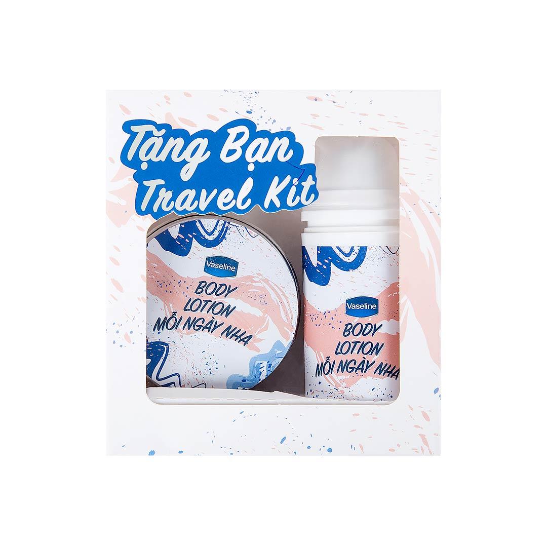 Mua Vaselline 350ml/320ml tặng bộ travel kit (SL có hạn)
