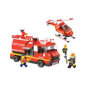 Bộ Lắp Ráp Trực Thăng & Xe Chuyên Dụng Cứu Hỏa SLUBAN