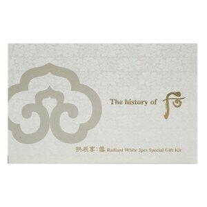 Bộ Sản Phẩm Dưỡng Sáng Da, Mờ Thâm Nám 3 Món The History of WHOO