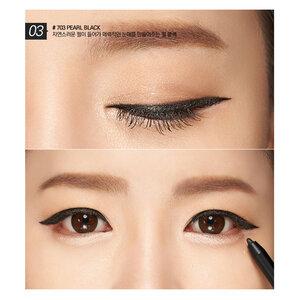 Chì Kẻ Mắt B.O.M 703 Pearl Black