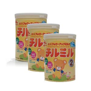 Combo 3 Sữa Bột Trẻ Em Morinaga 6-36 Tháng Tuổi 850 Gram (Hàng Nhập)