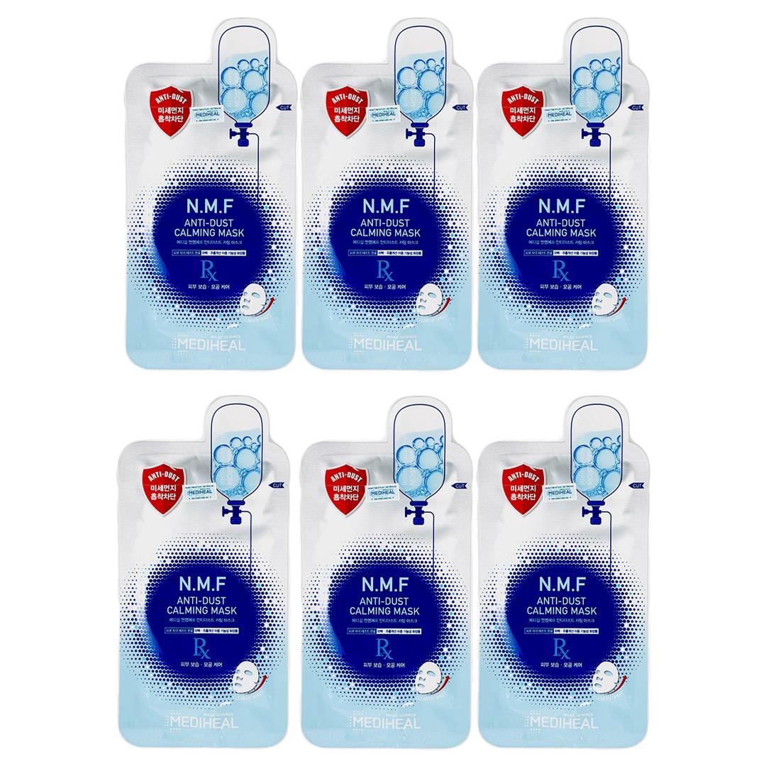 Tặng 6 miếng mặt nạ Mediheal Anti-Dust Dưỡng Ẩm Và Làm Dịu Da 27ml trị giá 486K (SL có hạn)