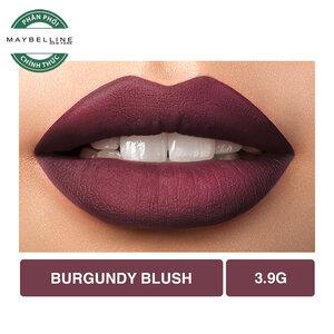 Son Lì Lâu Trôi Maybelline Creamy Matte 696 Burgundy Blush 4.2g