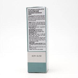 Tinh Chất Serum Cân Bằng Độ Ẩm Và Siêu Chống Oxy Hóa 30ml