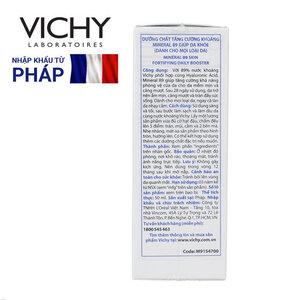 Dưỡng Chất Khoáng Cô Đặc Vichy Mineral 89 Phục Hồi, Bảo Vệ Da 50ml