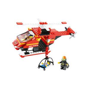Fire - Bộ Lắp Ráp Trực Thăng Cứu Hỏa Sluban(155pcs)