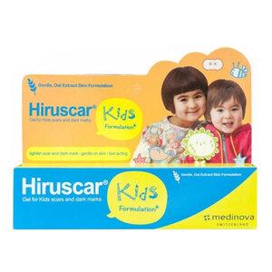 Gel Cải Thiện Sẹo Và Vết Thâm, Ngứa Cho Trẻ Em Hiruscar 10g