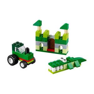 Hộp Lắp Ráp LEGO Classic Màu Xanh Lá 10708
