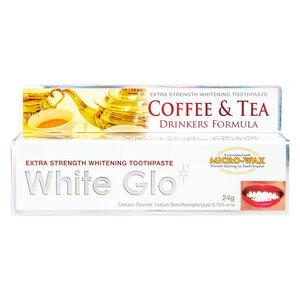 Kem Đánh Răng White Glo Làm Sáng Răng Cho Người Uống Trà & Cà Phê 24g