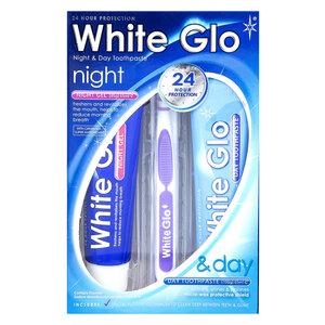 Kem Đánh Răng White Glo Ngày Và Đêm (165g*2)