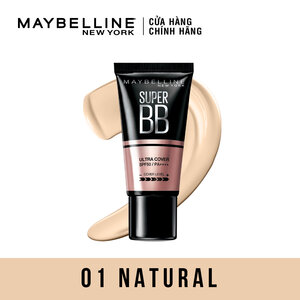 Kem Nền Trang Điểm Maybelline SPF50 PA++++ 01 Natural 30ml