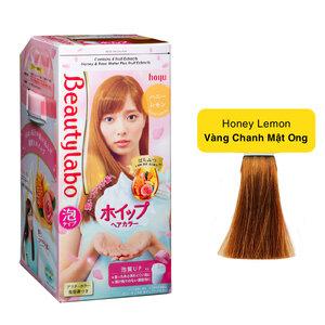 Kem Nhuộm Tạo Bọt Beautylabo Màu Vàng Chanh Honey Lemon