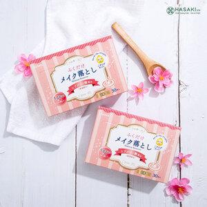 Khăn Ướt Tẩy Trang Kyowa-shiko Hương Hoa Hồng 30 Miếng