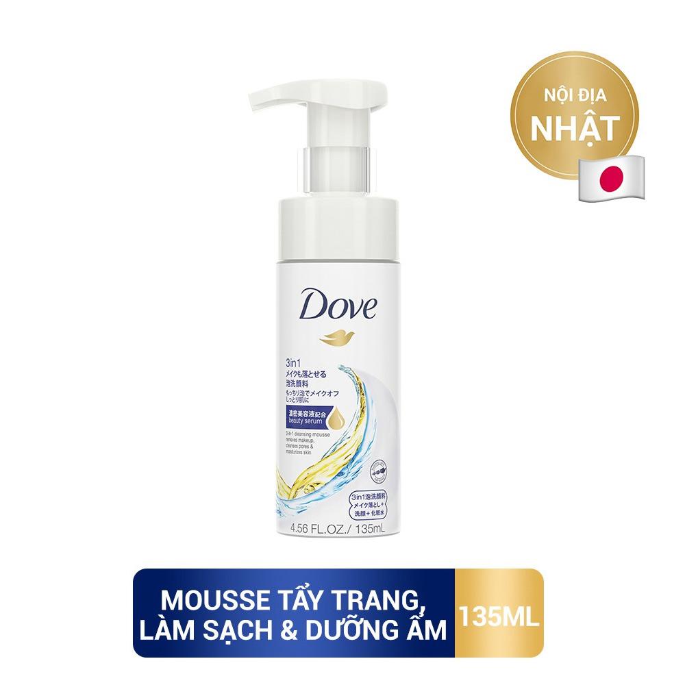 Mua SRM Dove Sakura  tặng Dove mousse 3trong1(SL có hạn)