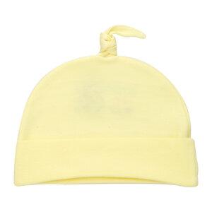 Nón Cột Dây Hello Baby Màu Vàng Đậm Size 1 (ss0201)