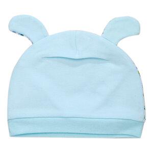Nón Phối Tam Giác Hello Baby Xanh Nhạt Size 2 (ss0376)