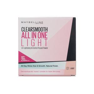 Phấn Phủ Mịn Da Kiềm Dầu Maybelline SPF20/PA+++ 01 Light 9g