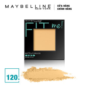 Phấn Phủ Mịn Lì Fit Me Maybelline 120 Classic Ivory