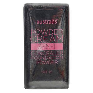 Phấn Phủ Trang Điểm Dạng Kem Australis 3 Trong 1 Nude Beige 9g