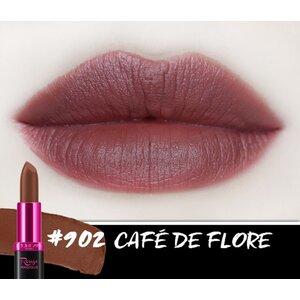 Son Màu Chuẩn Lì Màu Nâu Cà Phê 902 Café De Flore - 3.9g
