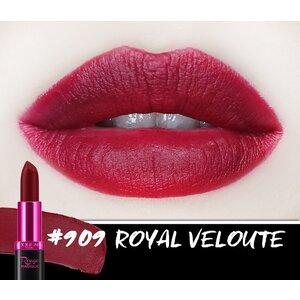 Son Màu Chuẩn Lì Màu Đỏ Rượu 909 Royal Veloute - 3.9g