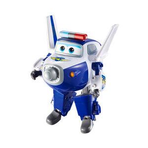 Robot Biến Hình Máy Bay Mini - Cảnh Sát Paul Supper Wings