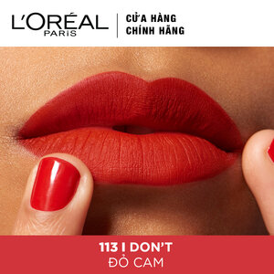 Son Kem Lì L'Oreal 113 I Don't 7ml