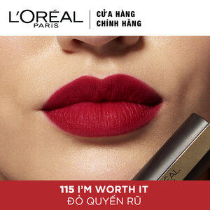 Son Kem Lì L'Oreal 115 I'm Worth It 7ml
