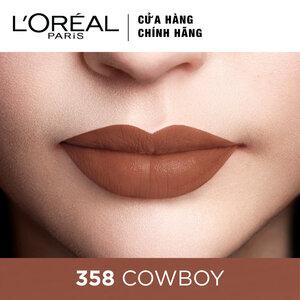 Son Kem Lì Lâu Trôi L'Oreal 358 Cowboy