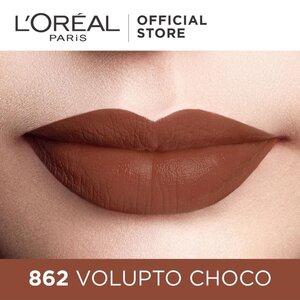 Son Kem Lì Lâu Trôi L'Oreal 862 Volupto Choco 6.3ml