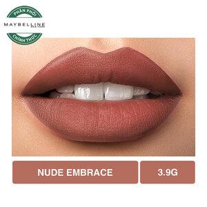 Son Lì Lâu Trôi Maybelline Creamy Matte 650 Nude Embrace 3.9g