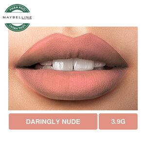 Son Lì Lâu Trôi Maybelline Creamy Matte 655 Darling Nude 4.2g