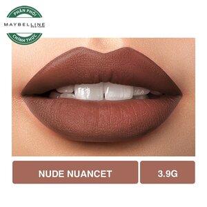 Son Lì Lâu Trôi Maybelline Creamy Matte 657 Nude Nuance 4.2g