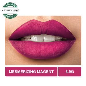 Son Lì Lâu Trôi Maybelline Creamy Matte 680 Mesmerizing Magenta 4.2
