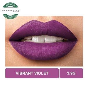 Son Lì Lâu Trôi Maybelline Creamy Matte 681 Vibrant Violet 4.2g