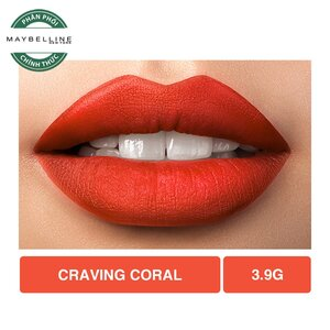 Son Lì Lâu Trôi Maybelline Creamy Matte 685 Craving Coral 4.2g