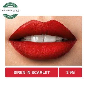 Son Lì Lâu Trôi Maybelline Creamy Matte 690 Siren In Scarlet 4.2g