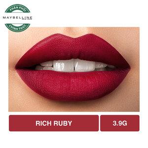 Son Lì Lâu Trôi Maybelline Creamy Matte 691 Rich Ruby 4.2g