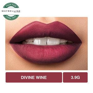 Son Lì Lâu Trôi Maybelline Creamy Matte 695 Divine Wine 4.2g