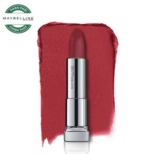 Son Lì Mềm Môi Màu Đỏ Maybelline Powder Matte MRD07 Noir Red 3.9g
