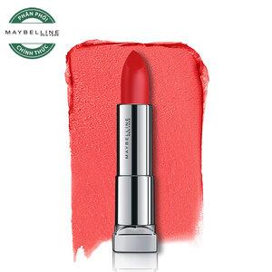 Son Lì Mềm Môi Màu Đỏ Maybelline Powder Matte MRD08 Red-dy-red 3.9g