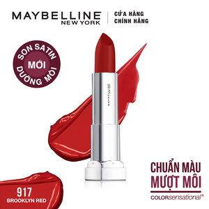 Son Màu Dưỡng Môi Maybelline Màu Đỏ 917 Brooklyn Red 3.9g