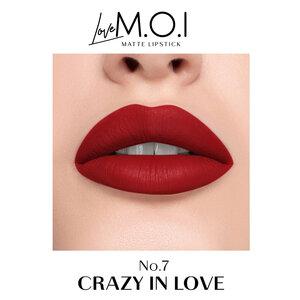 Son Thỏi Lì M.O.I Màu Đỏ Hồng 07 Crazy In Love