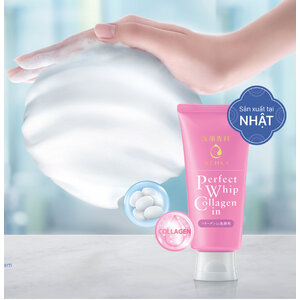 Sữa Rửa Mặt Senka Dưỡng Ẩm Mịn & Săn Chắc Da 120g
