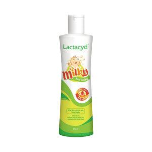 Sữa Tắm Gội Trẻ Em Lactacid Milky 250ml ( Xanh Lá)