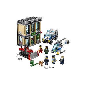 Xe Ủi Vượt Ngục Lego